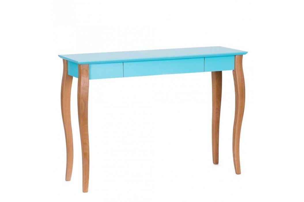 Tmavě tyrkysový psací stůl Ragaba Lillo,délka105 cm