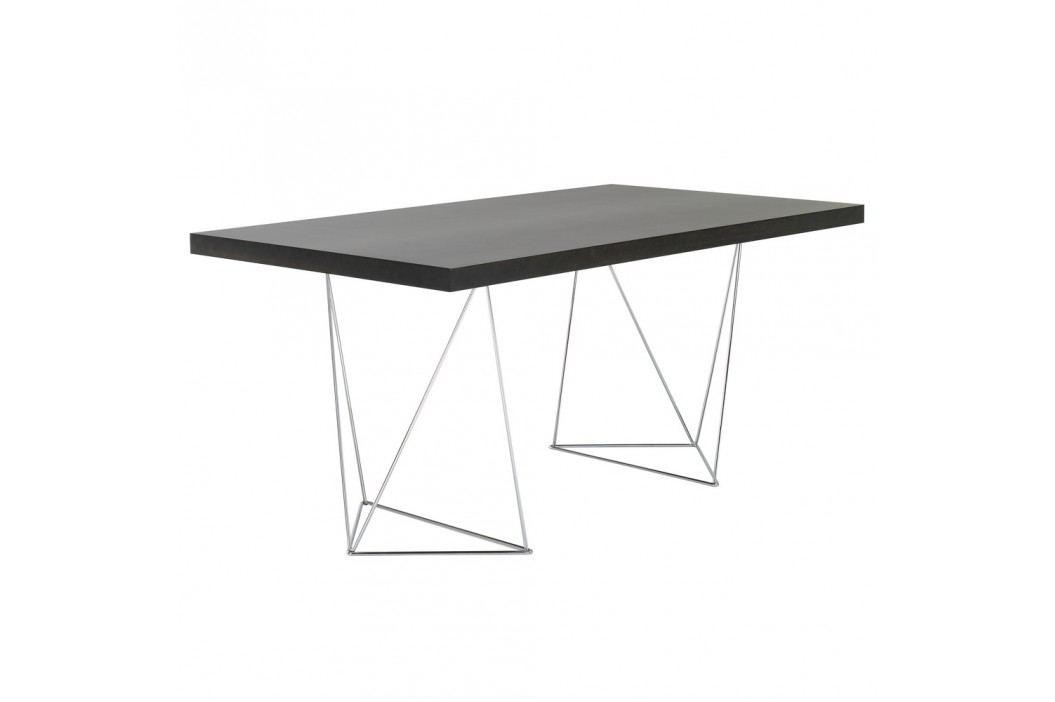Tmavě hnědý stůl TemaHome Multi, 180cm
