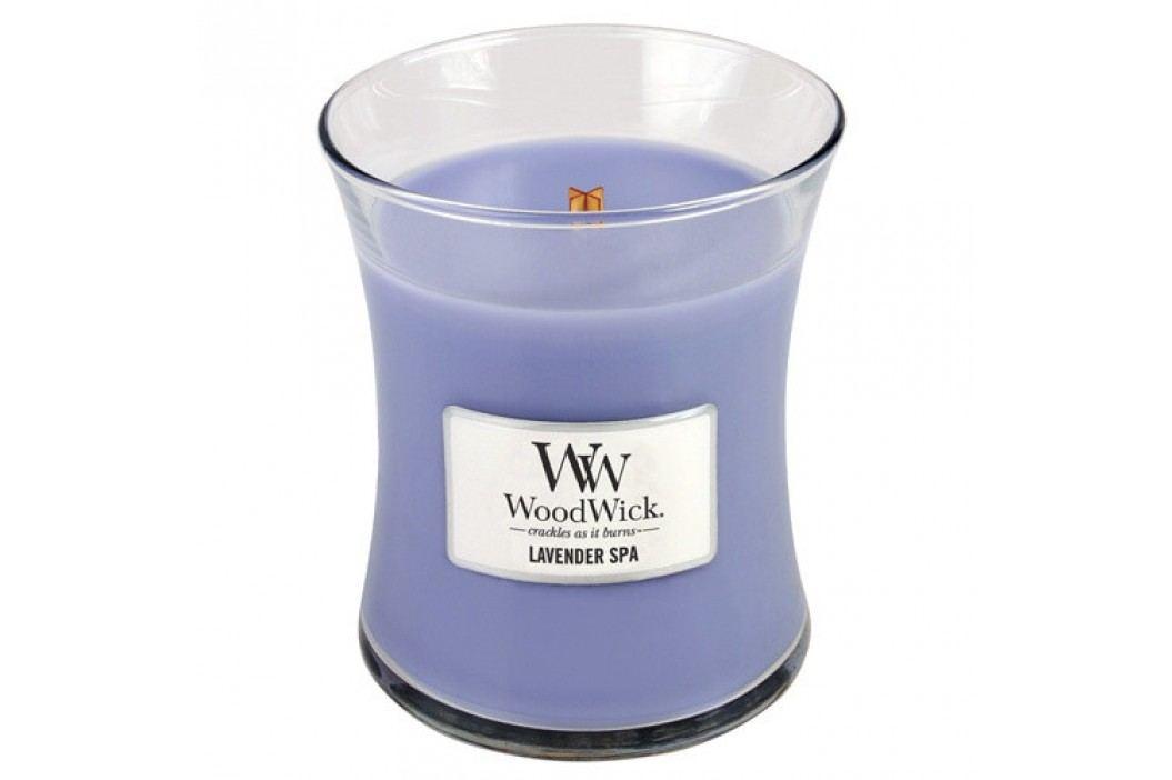 Vonná svíčka WoodWick Levandulová lázeň, 275 g, 60 hodin