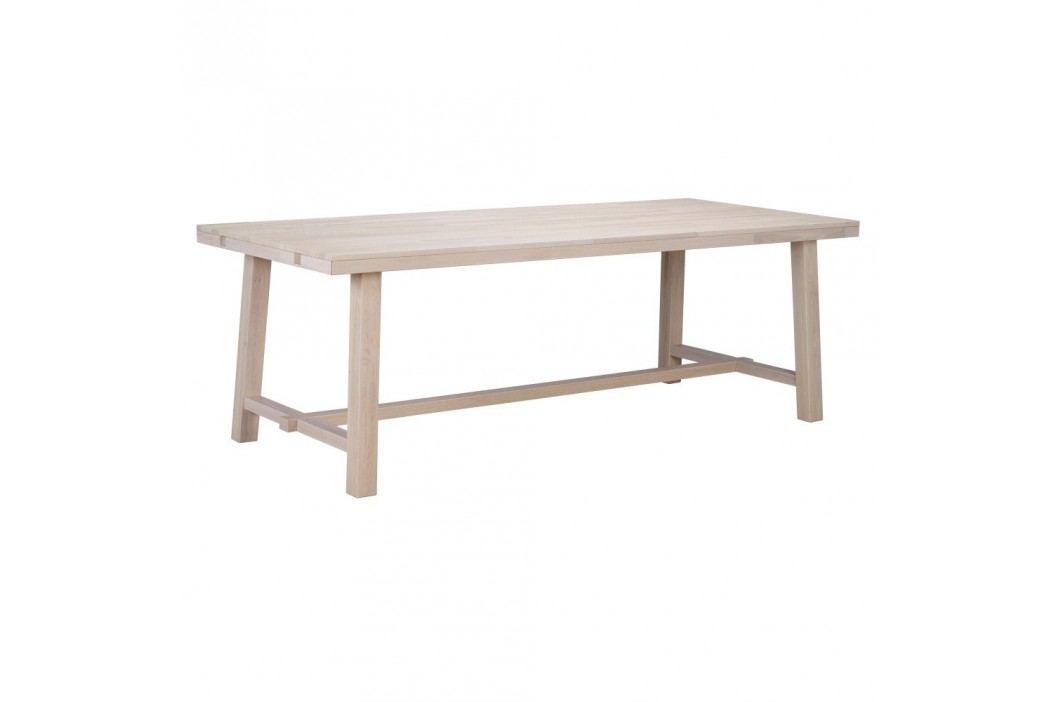 Matně lakovaný dubový jídelní stůl Folke Brooklyn obrázek inspirace
