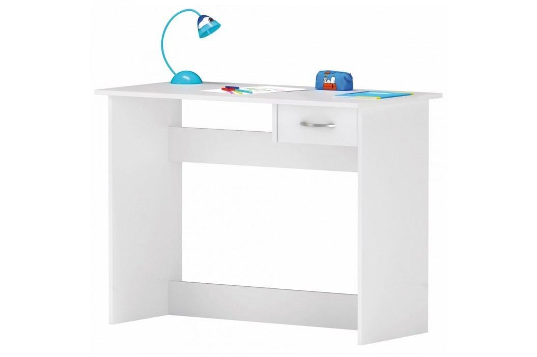 Bílý pracovní stůlAlpin