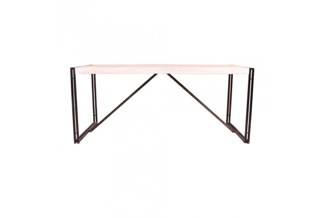 Jídelní stůl z mangového dřeva SOB Psylla