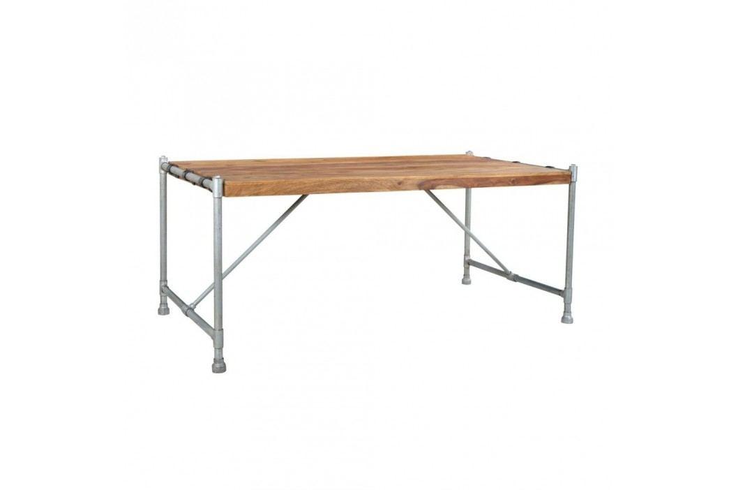 Jídelní stůl ze dřeva palisandru SOB Pipe