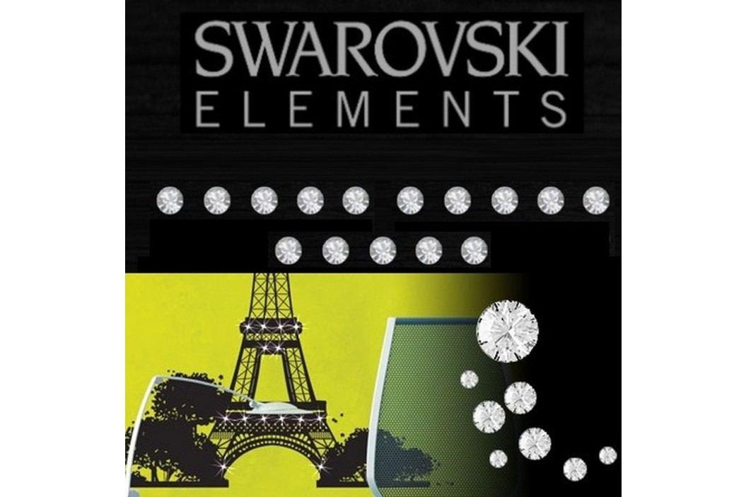 Sada 15 adhezivních Swarovski krystalů Fanastick Crystal, ⌀ 3 mm
