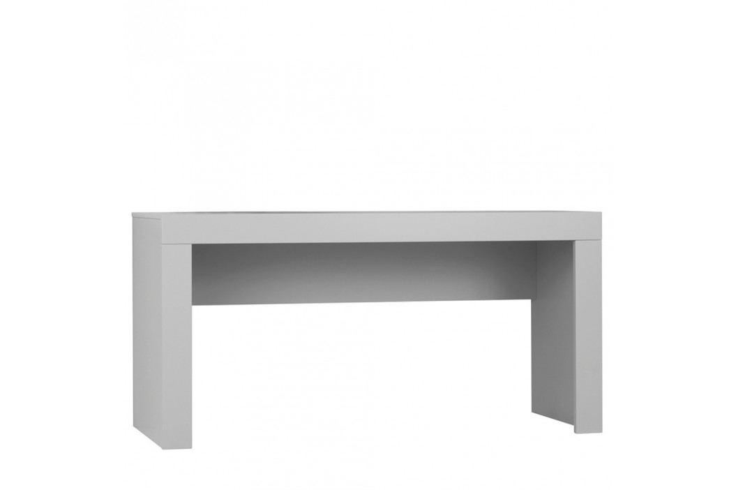 Šedý pracovní stůl Pinio Calmo