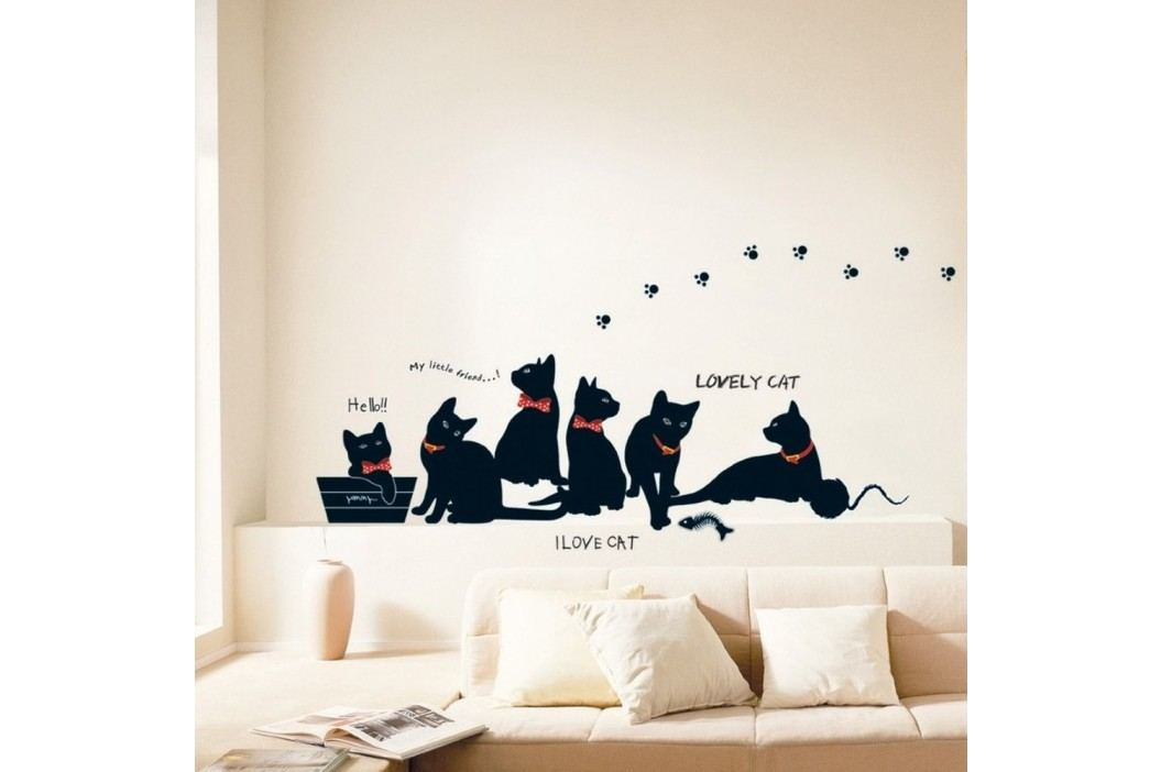Sada samolepek Ambiance Cats with Bowties