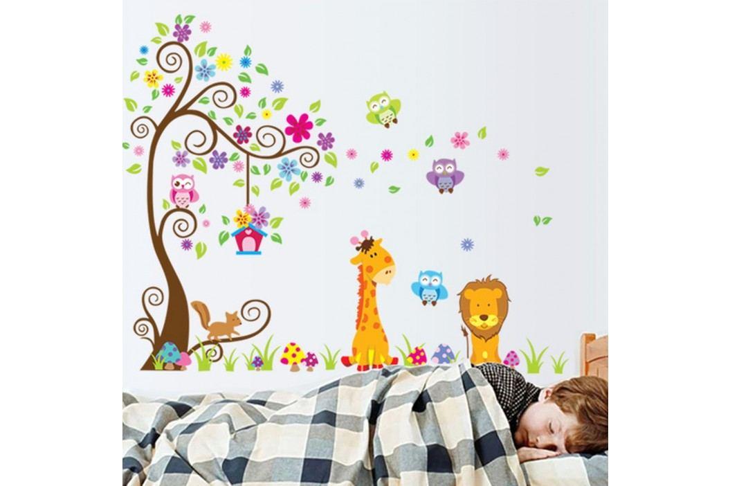 Sada nástěnných dětských samolepek Ambiance Giant Tree