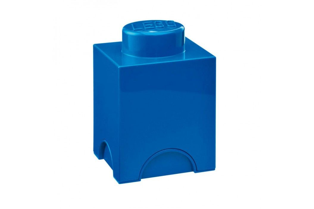 Modrý úložný box LEGO® obrázek inspirace