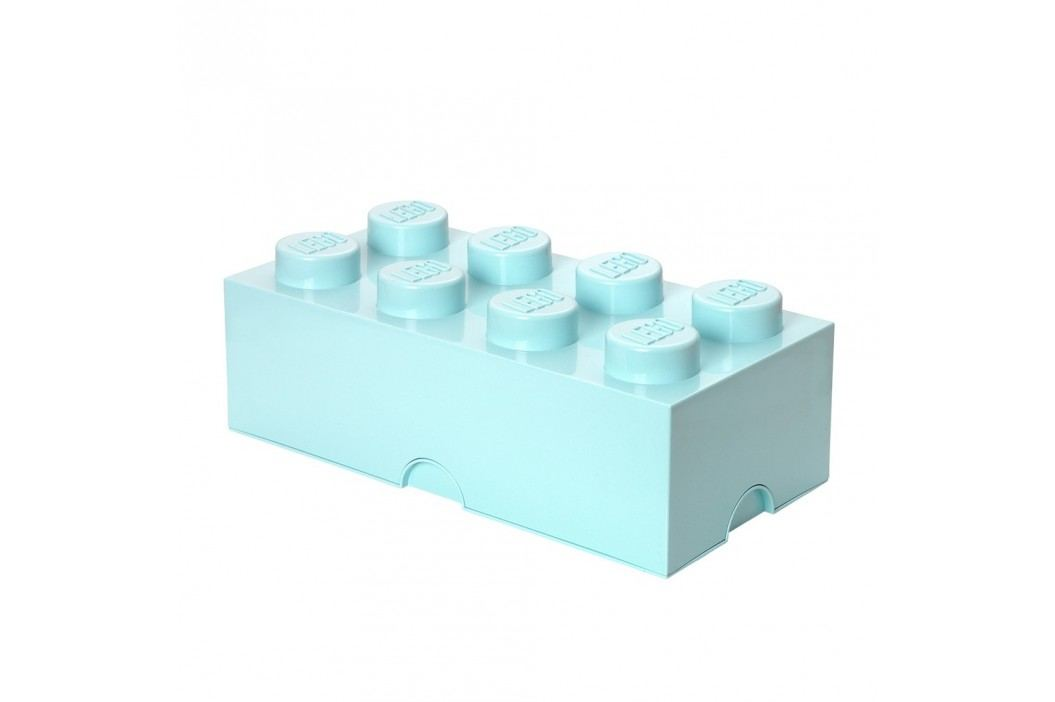 Světle modrý úložný box LEGO® obrázek inspirace