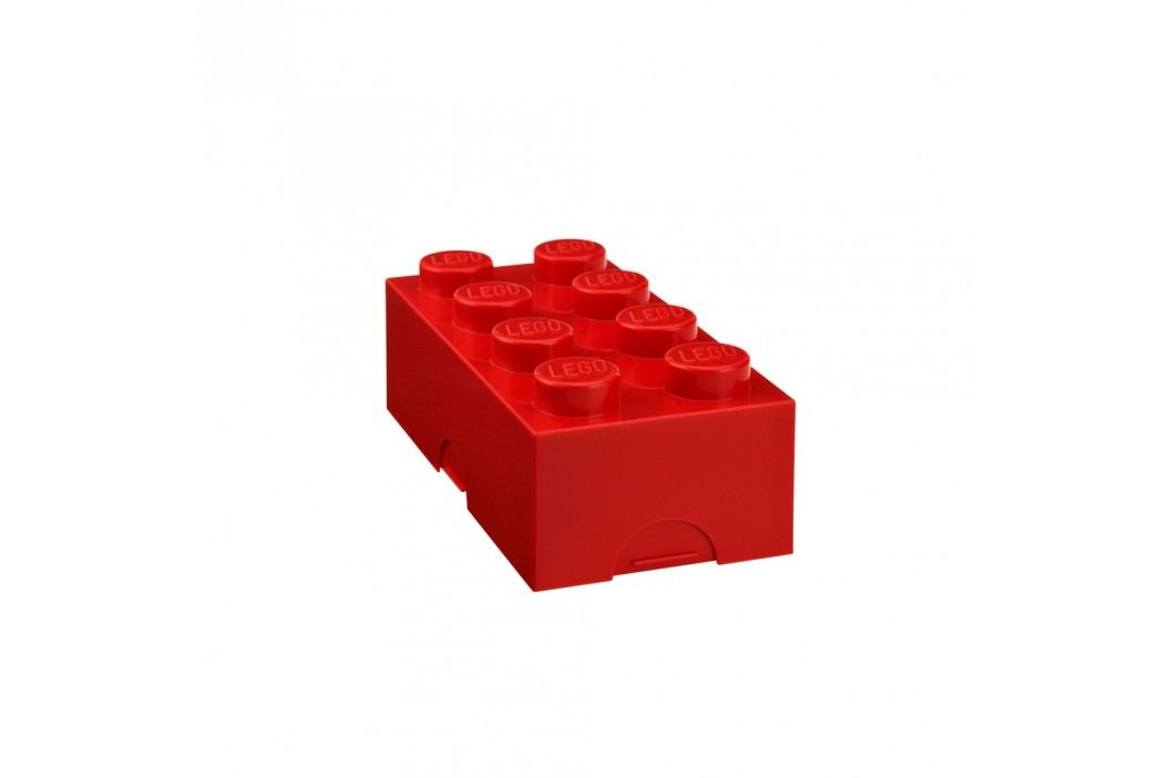 Červený svačinový box LEGO®
