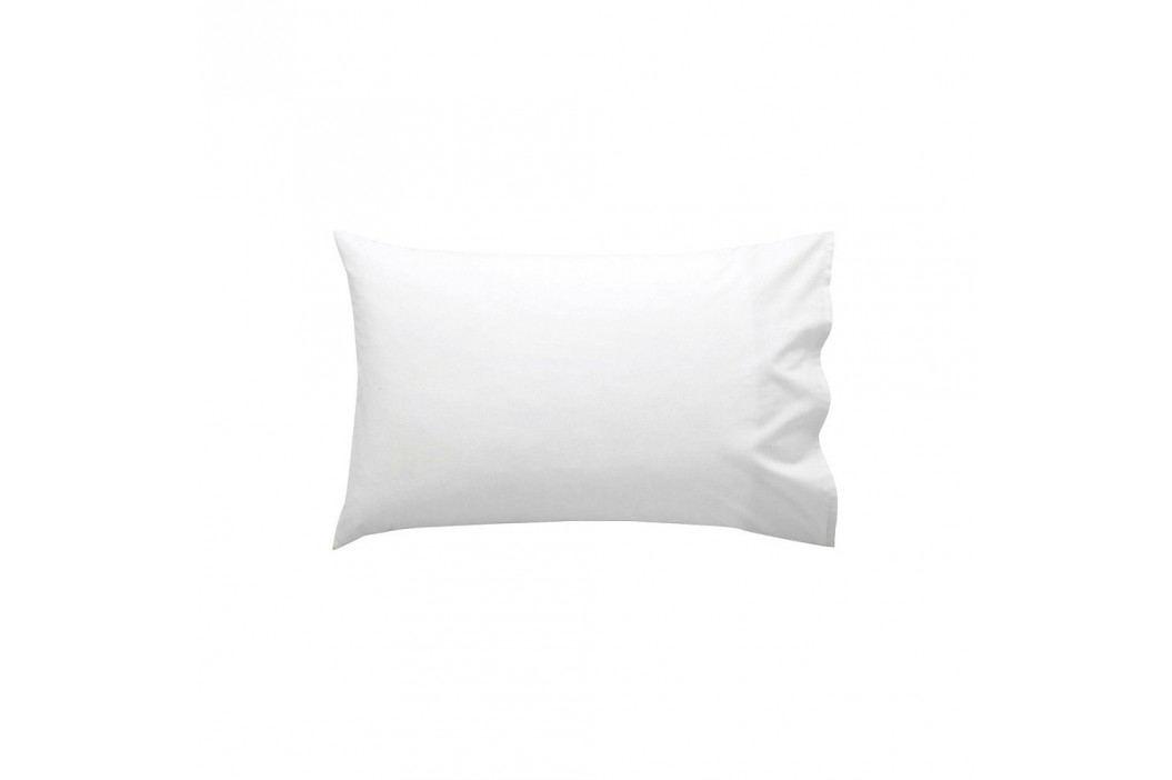 Bílý bavlněný povlak na polštář Happy Friday Basic, 40x60cm