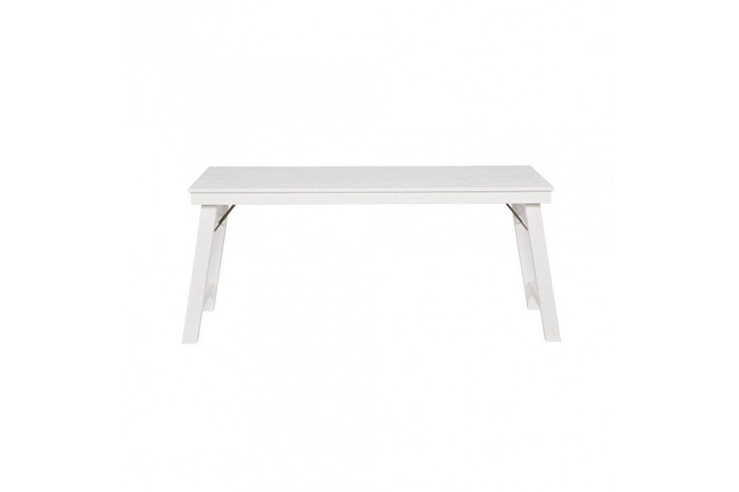 Bílý psací stůl De Eekhoorn Klap