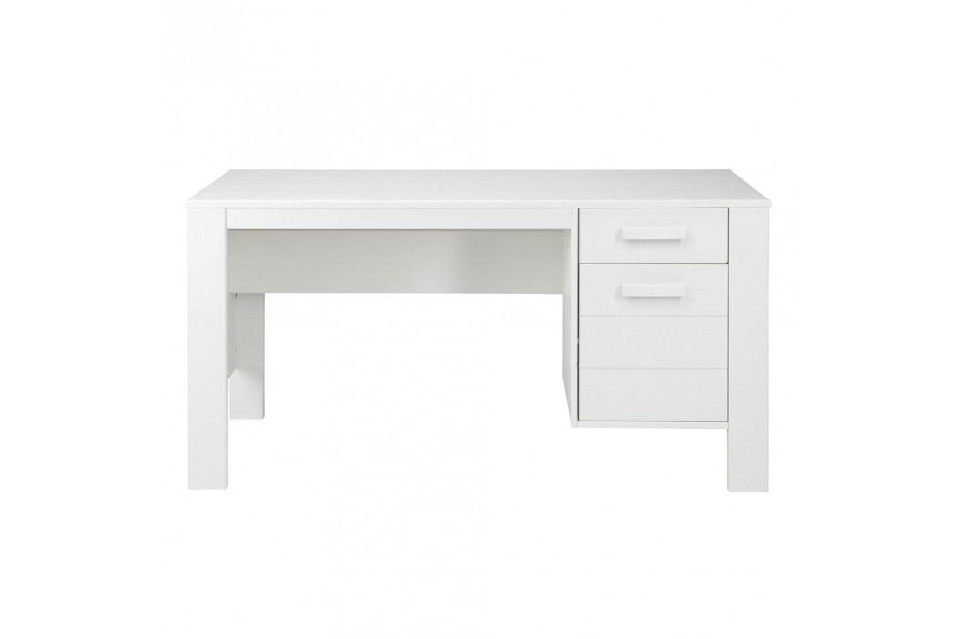 Bílý pracovní stůl De Eekhoorn Robin