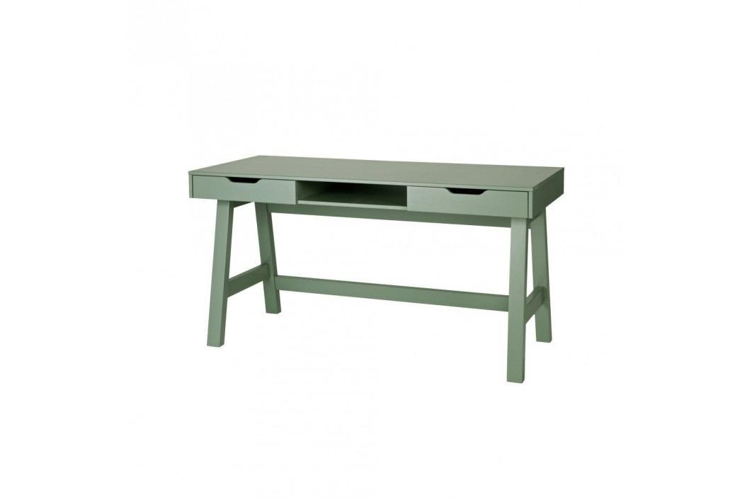 Zelený psací stůl Nikki De Eekhoorn