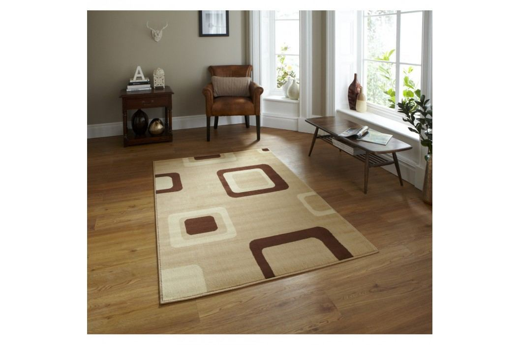 Béžový koberec Think Rugs Diamond, 160x 220cm
