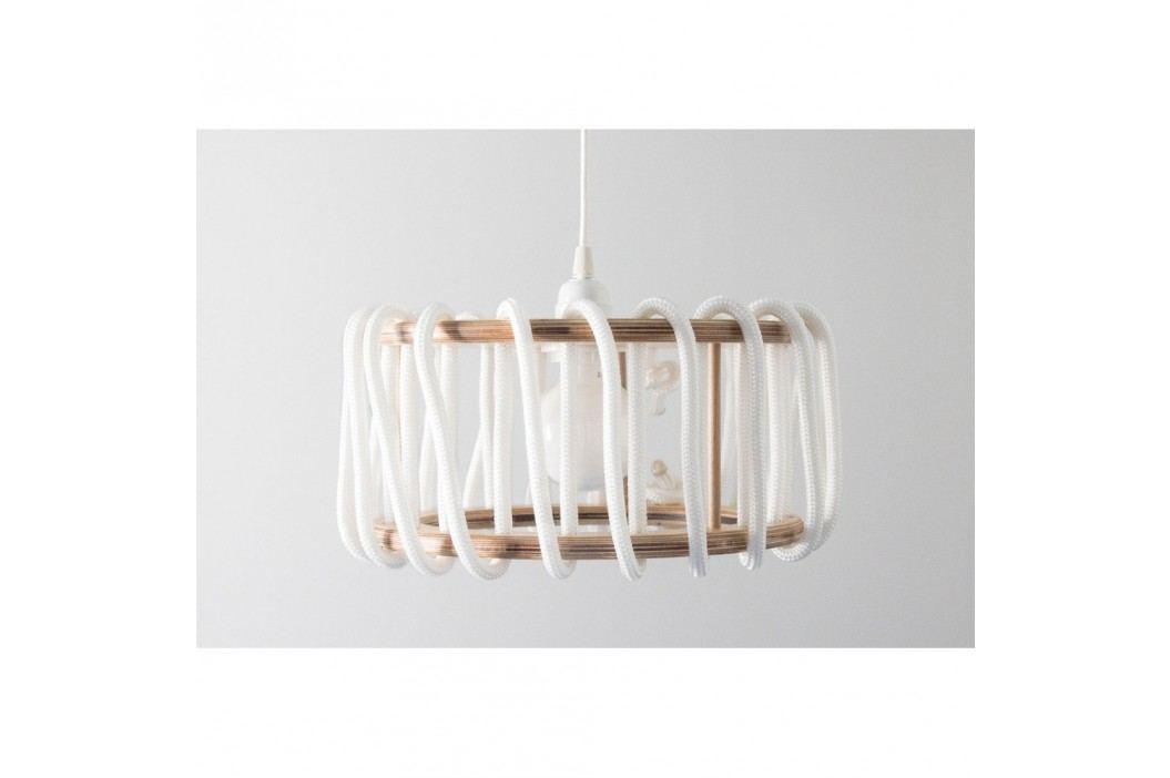 Bílé stropní svítidlo EMKO Macaron, 30 cm