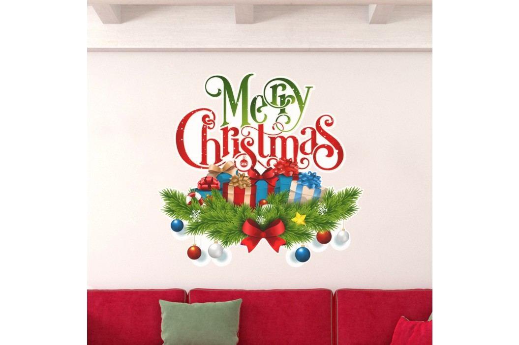 Vánoční samolepka Ambiance Christmas Avec Neige