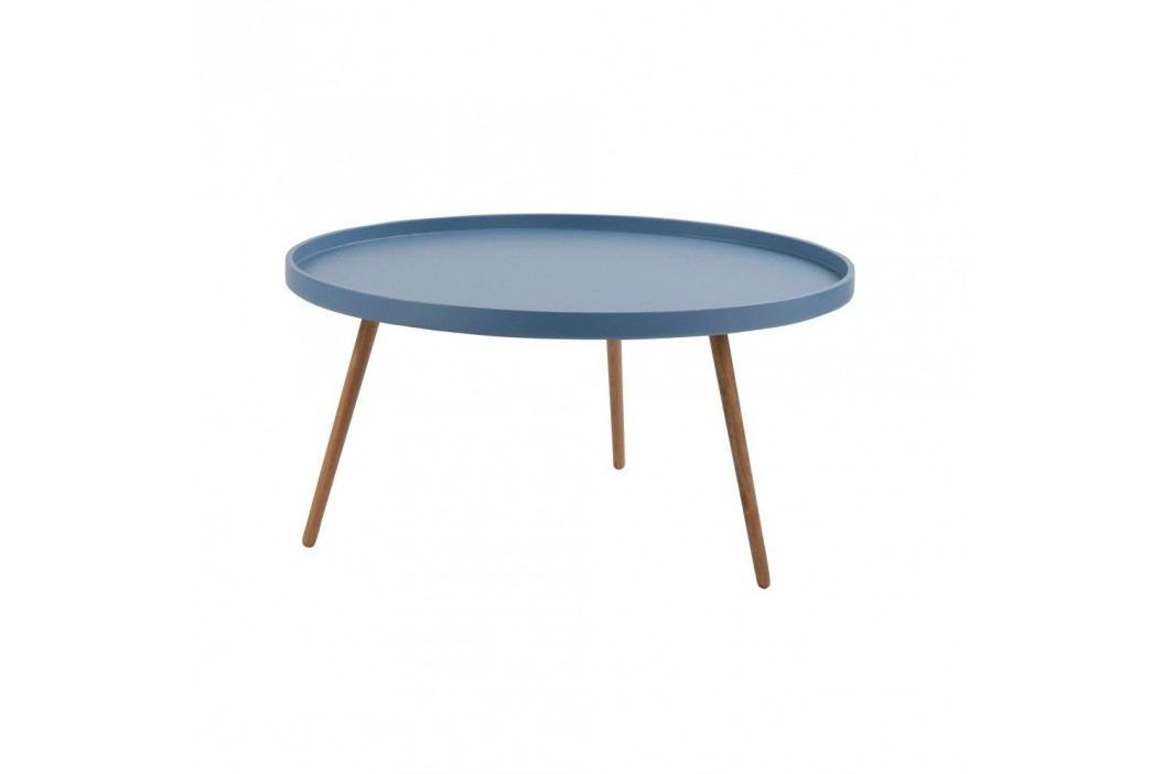 Modrý konferenční stolek Folke Edie