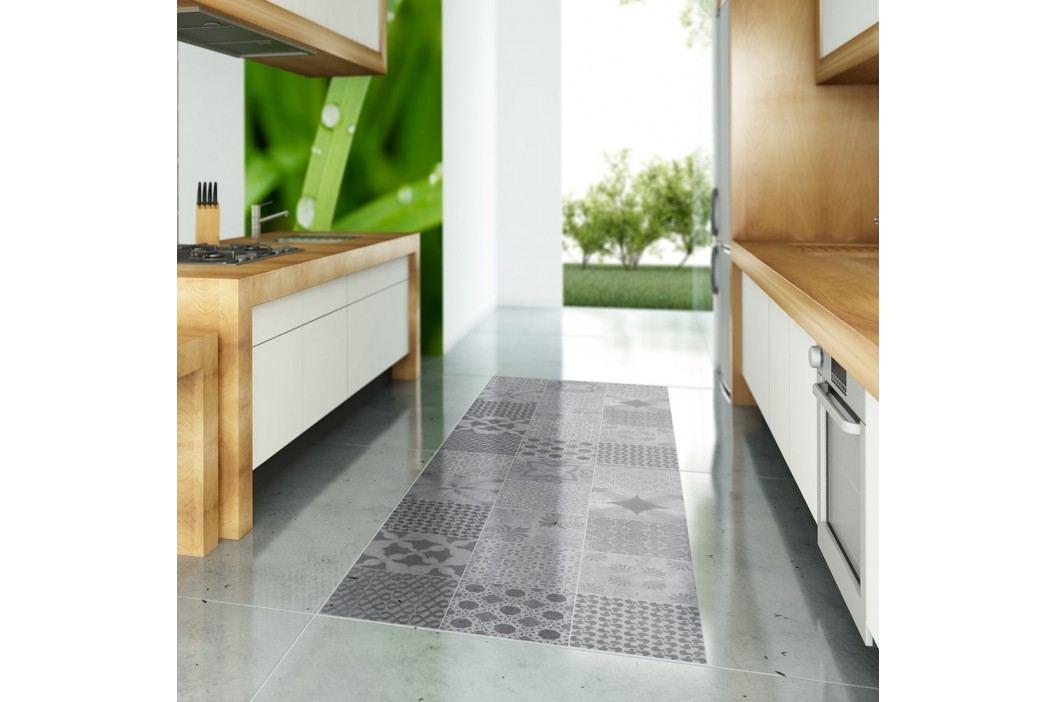 Voděodolná samolepka na podlahu Ambiance Grey Stones, 100 x 60 cm