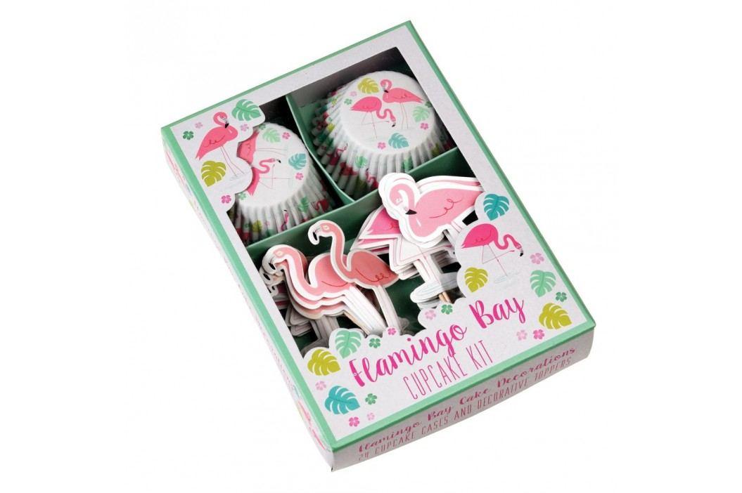 Set na zdobení cupcaků Rex London Flamingo Bay obrázek inspirace