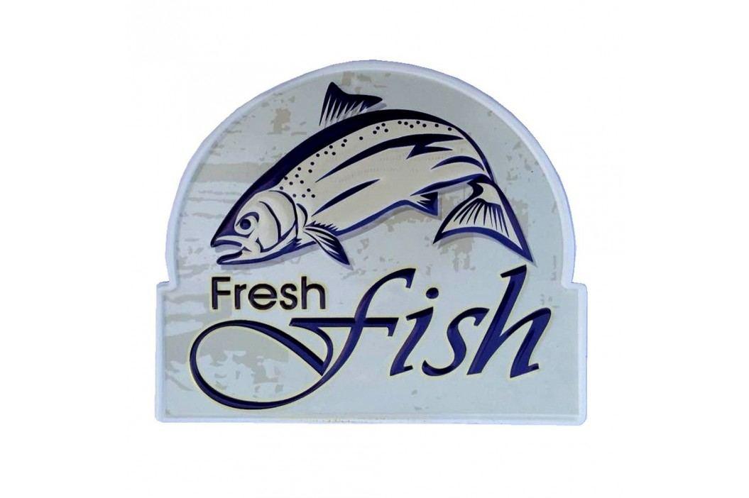 Nástěnná cedule Novita Fresh Fish, 25x30cm