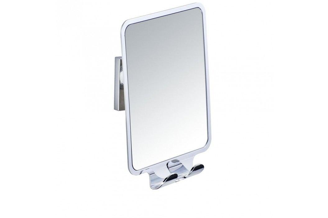 Samodržící nástěnné zrcadlo se 2 háčky Wenko Vacuum-Loc, nosnost až33kg