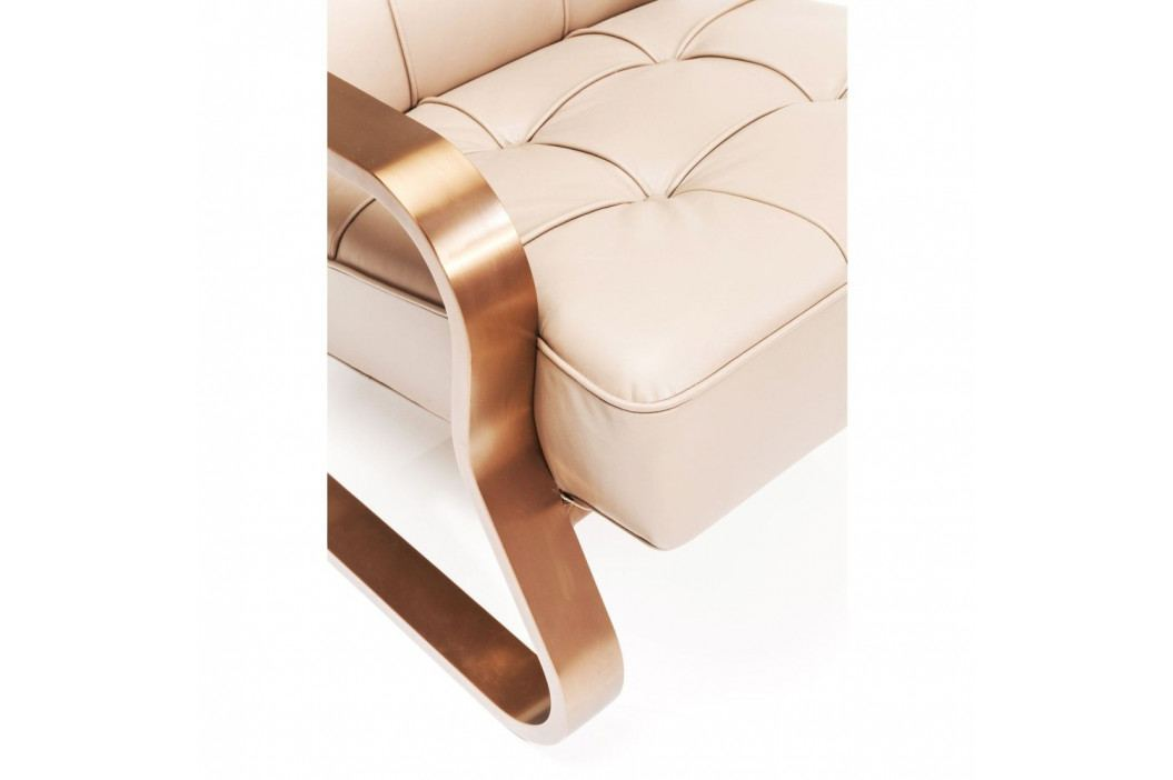 Kožené křeslo Kare Design Dune
