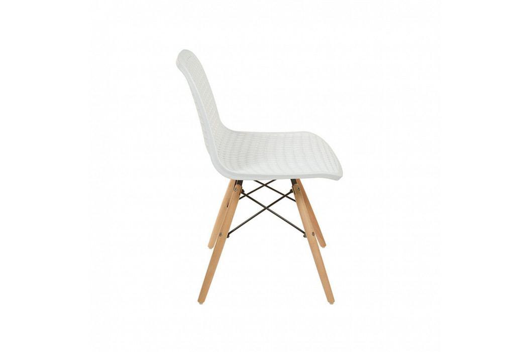 Bílá židle Santiago Pons Volga