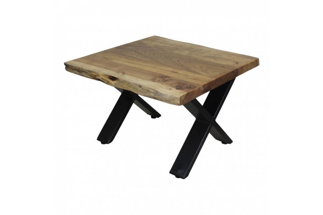 Konferenční stolek z akáciového dřeva HSM collection, délka 50 cm