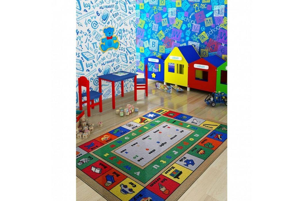 Dětský koberec Lesson,133x190cm obrázek inspirace