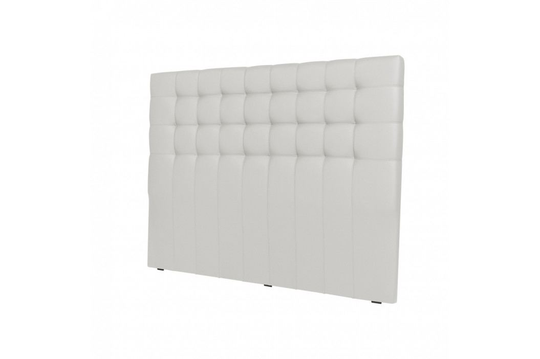 Bílé čelo postele Windsor & Co Sofas Deimos, 200 x 120 cm