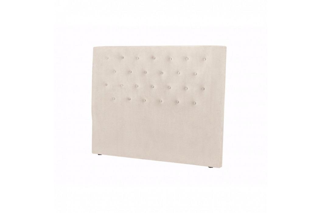 Krémové čelo postele Windsor & Co Sofas Astro, 160 x 120 cm