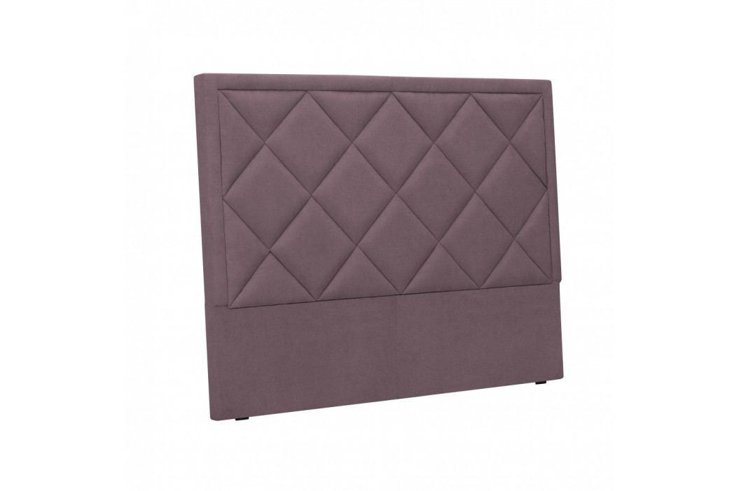Fialové čelo postele Windsor & Co Sofas Superb, 140 x 120 cm