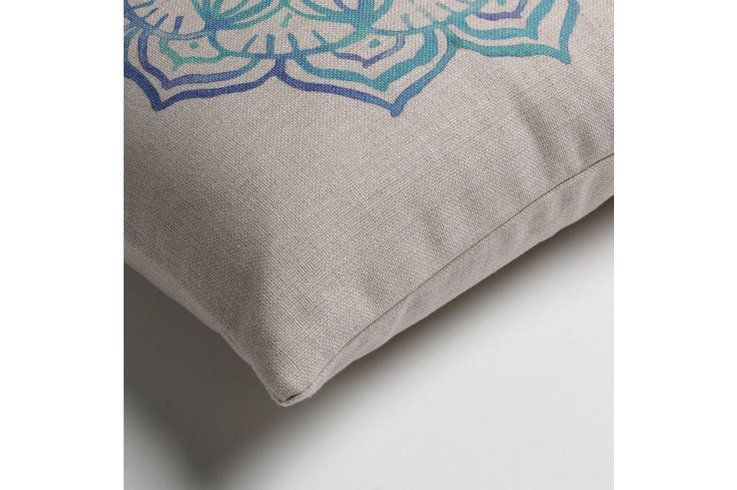 Modro-šedý polštář La Forma Shade, 45 x 45 cm