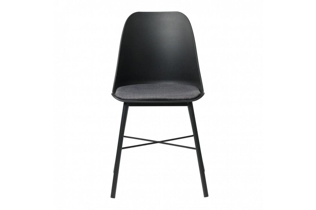 Černá jídelní židle Unique Furniture Whistler