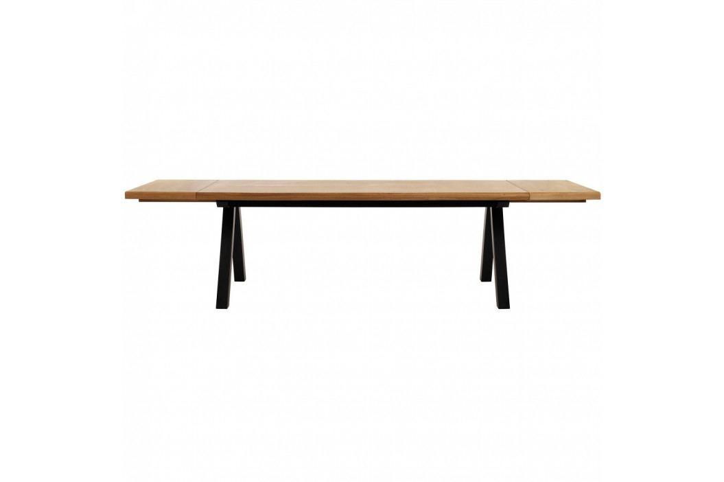 Sada 2 přídavných desek k jídelnímu stolu ze dřeva bílého dubu Unique Furniture Oliveto obrázek inspirace