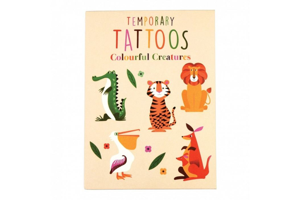Tetovací obtisky Rex London Colourful Creatures