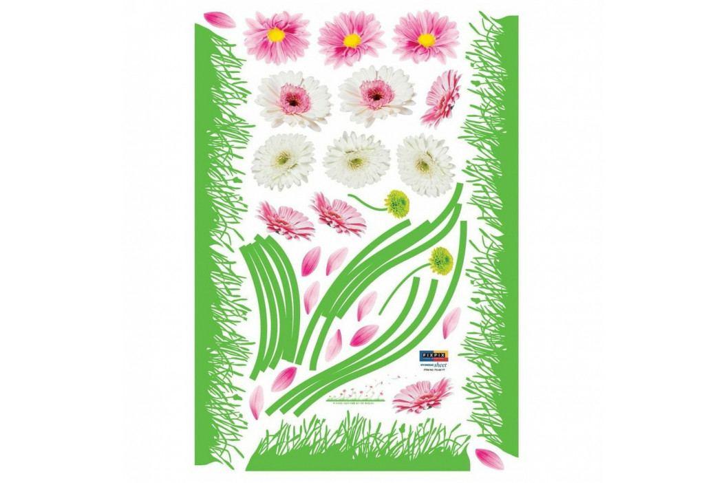 Samolepka Fanastick Colored Gerbera and Grass