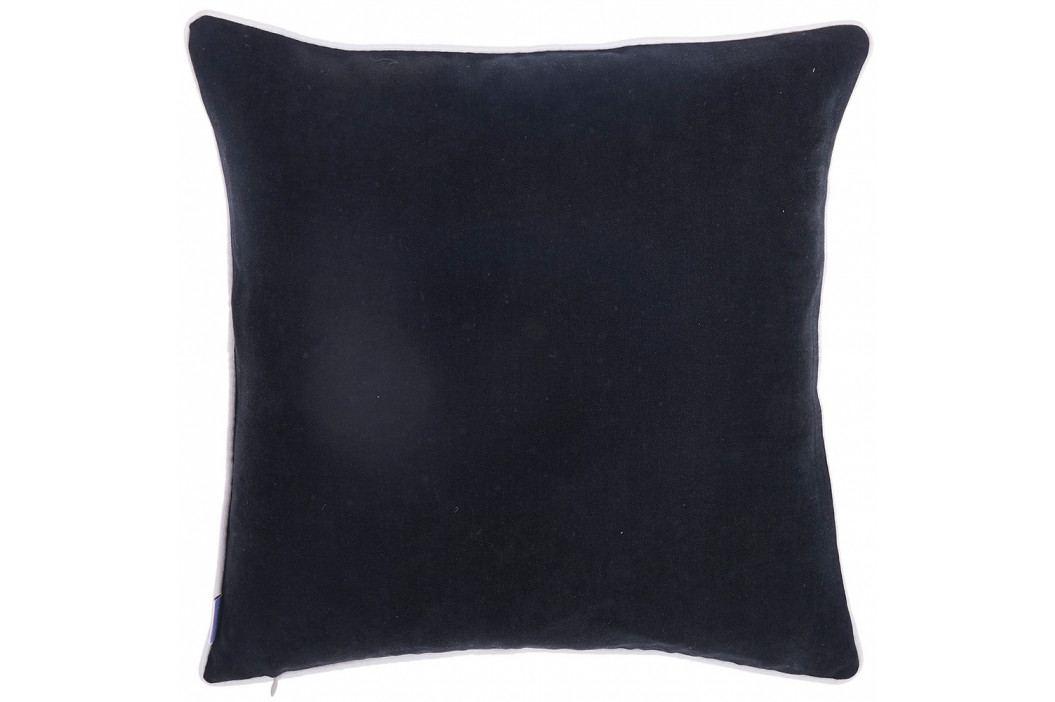 Černobílý povlak na polštář Apolena Rhombus, 43x43cm