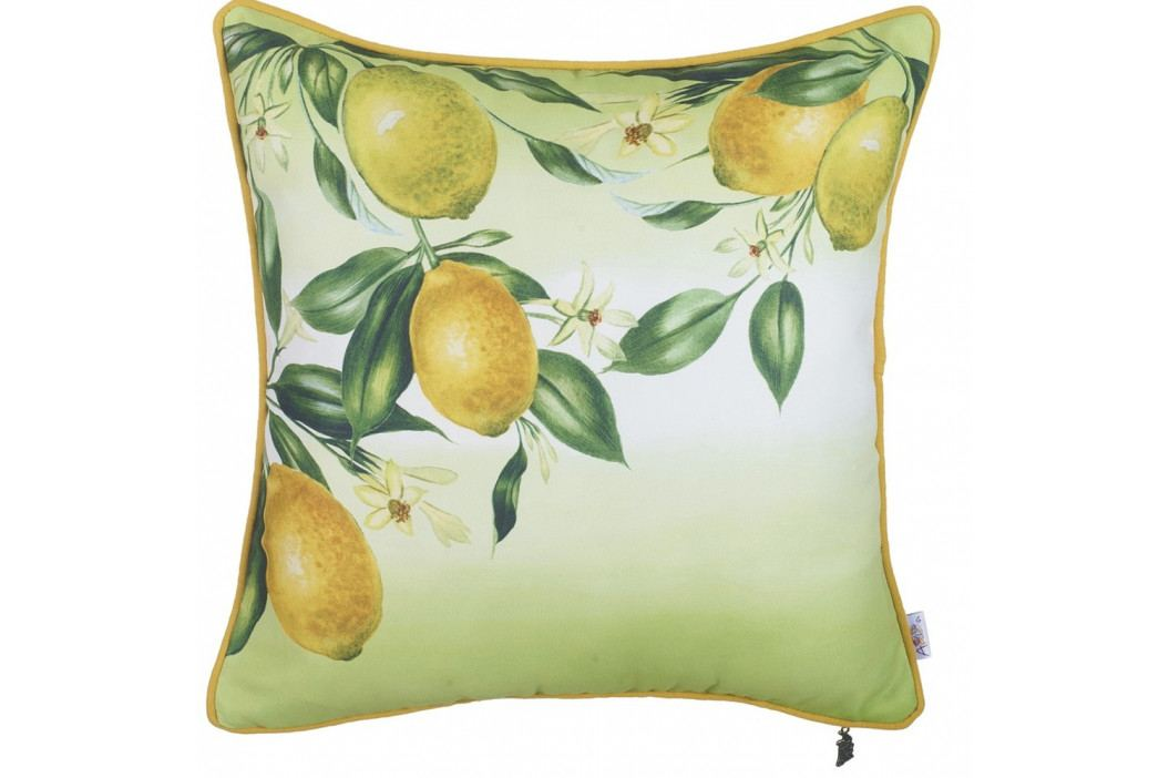 Povlak na polštář Apolena Lemons, 43 x 43 cm