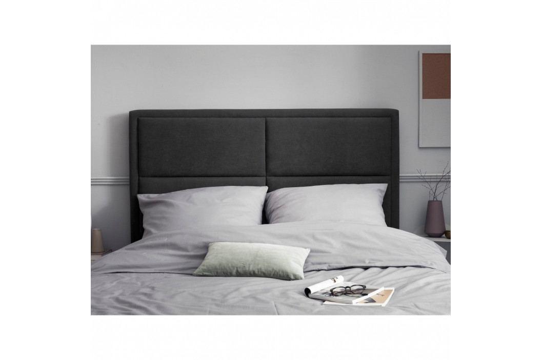 Tmavě šedé čelo postele HARPER MAISON Gala, 200 x 120 cm
