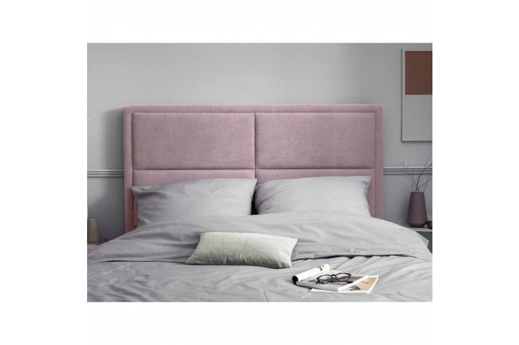 Růžové čelo postele HARPER MAISON Gala, 180 x 120 cm