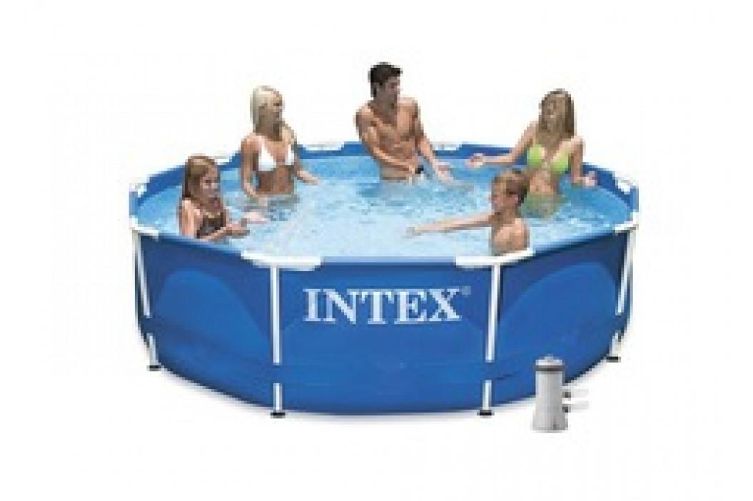 Bazén INTEX Metal Frame 3,05 x 0,76m s kartušovou filtrací