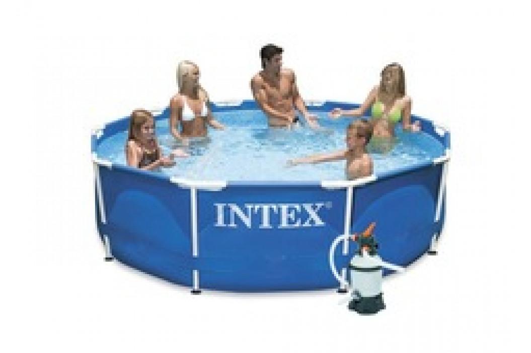 Bazén INTEX Metal Frame 3,05 x 0,76m písková filtrace 2m3/hod