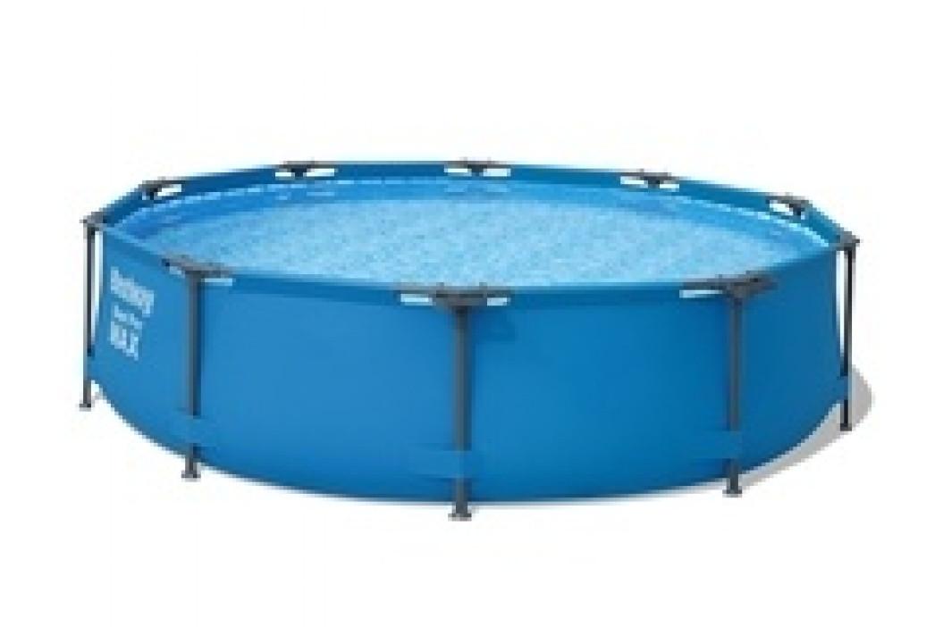 Bazén Bestway s konstrukcí 3,05 x 0,76 m šedý bez filtrace