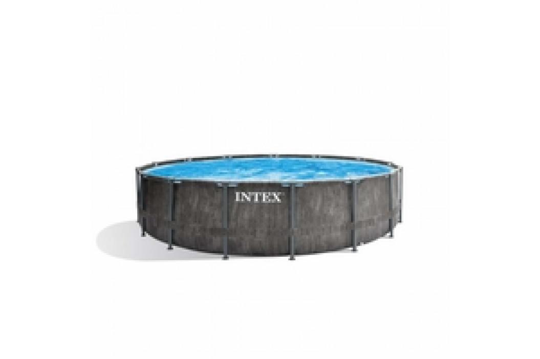 INTEX Prism Frame Greywood 4,57 x 1,22m set písková filtrace 4m3/hod