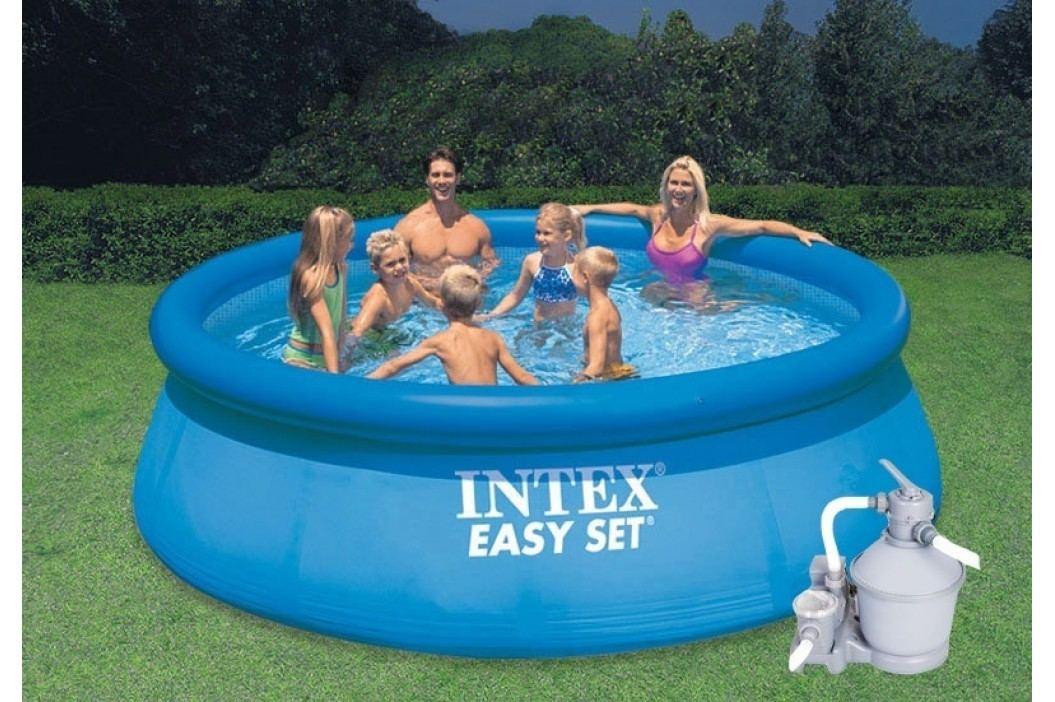 Bazén INTEX 4,57 x 1,07m set + písková filtrace 3,7m3/hod