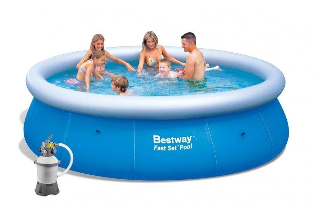 Bazén Bestway 3,66 x 0,76m písková filtrace 2m3/hod