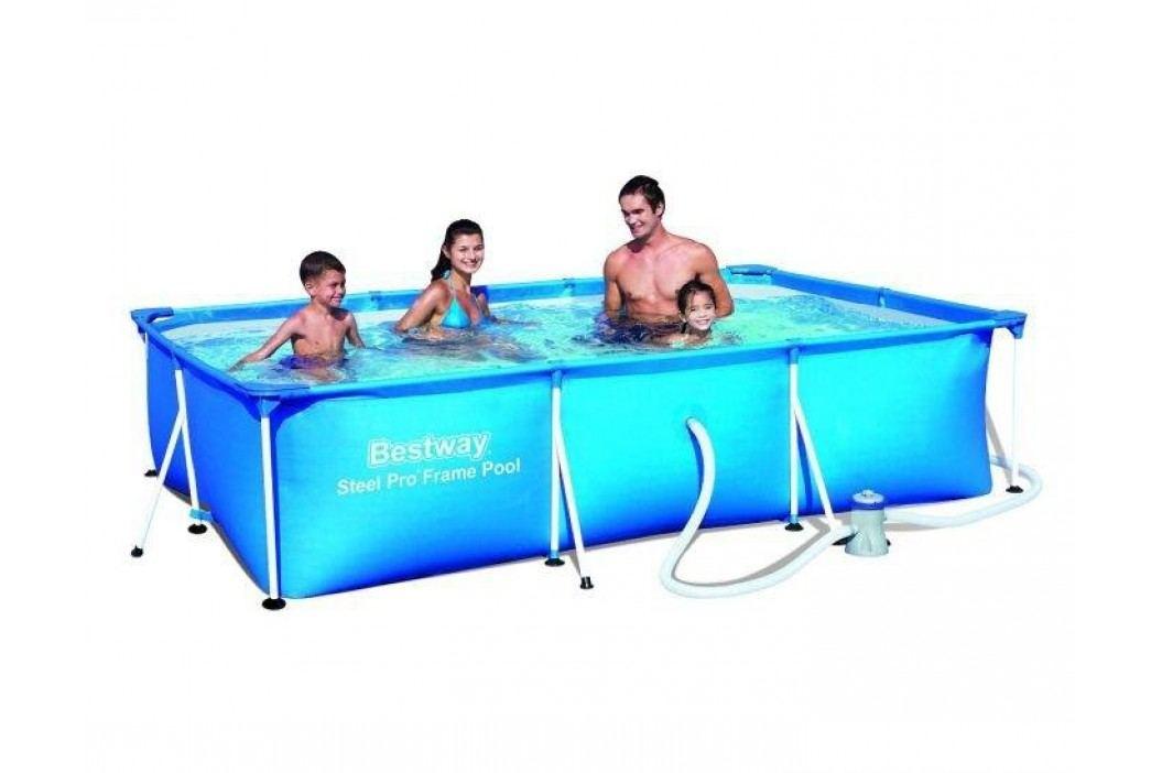 Bazén Bestway s konstrukcí 4,00 x 2,11 x 0,81 m s kartušovou filtrací