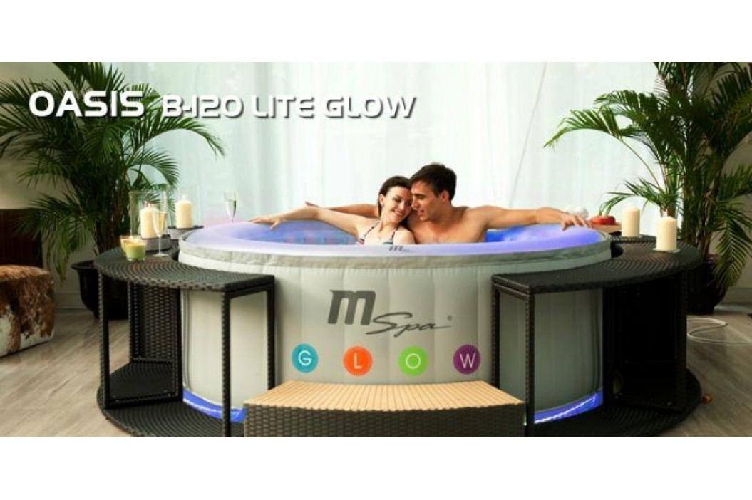 Vířivý bazén MSpa M-021LS GLOW LITE obrázek inspirace